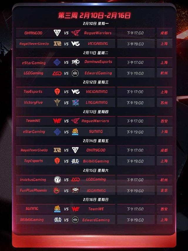 Chính thức công bố lịch thi đấu LPL mùa xuân 2020: Khai màn với trận Siêu kinh điển IG - FPX - Ảnh 4.