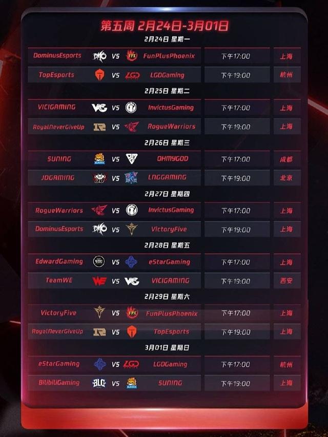 Chính thức công bố lịch thi đấu LPL mùa xuân 2020: Khai màn với trận Siêu kinh điển IG - FPX - Ảnh 6.