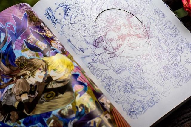 Artbook Pandora Hearts: There is chính thức ra mắt các độc giả tại Việt Nam - Ảnh 2.