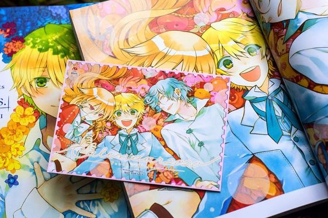 Artbook Pandora Hearts: There is chính thức ra mắt các độc giả tại Việt Nam - Ảnh 4.