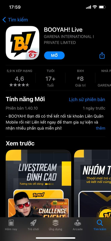 BOOYAH! Live ra mắt tính năng liên kết tài khoản Liên Quân Mobile -1634143626316721846585