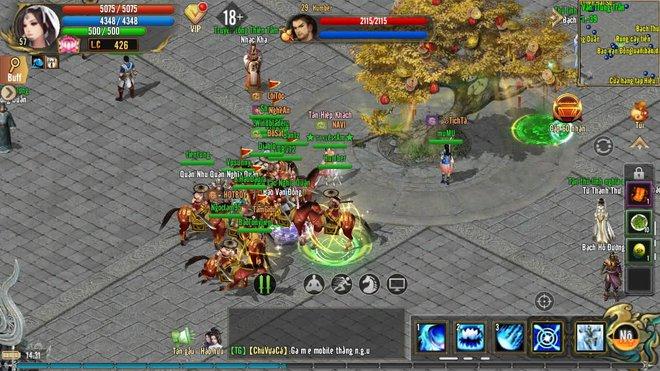Không khí game thủ Kiếm Thế ADNX Mobile ngày khai màn -16323011166911750747502
