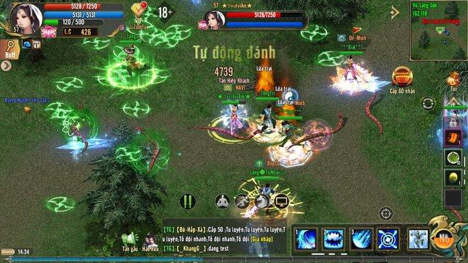 Không khí game thủ Kiếm Thế ADNX Mobile ngày khai màn -1632301118574512794098