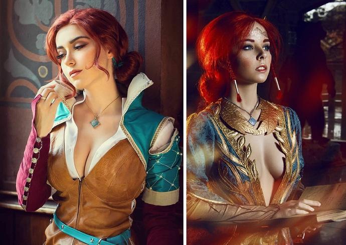 Hút hồn với cosplay nàng phù thủy nóng bỏng Triss trong The Witcher 3 - Ảnh 7.