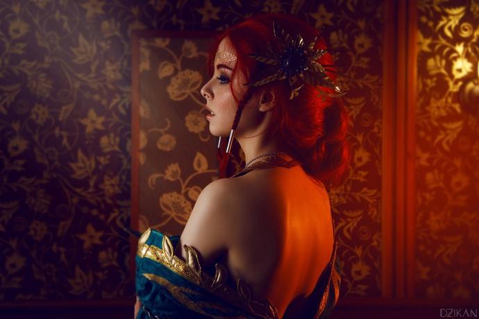 Hút hồn với cosplay nàng phù thủy nóng bỏng Triss trong The Witcher 3 - Ảnh 4.