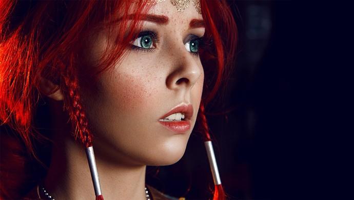 Hút hồn với cosplay nàng phù thủy nóng bỏng Triss trong The Witcher 3 - Ảnh 5.