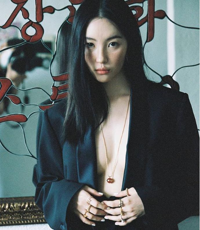 """Sunmy - Một trong những """"nữ hoàng sexy"""" hàng đầu Kpop, chính là một fan cuồng của ShowMaker Photo-1-1614184992005166186704"""