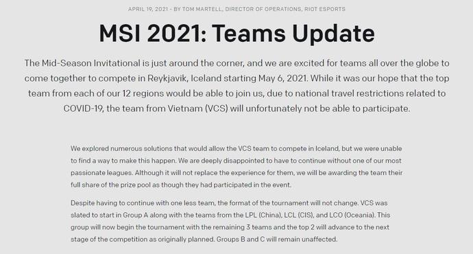 Lỡ hẹn với MSI 2021, không khí thất vọng bao trùm các thành viên GAM Esports - Ảnh 1.