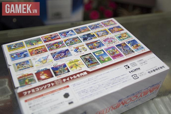 30 tựa game đều là giao diện tiếng Nhật, nhưng có những cái tên vô cùng gần gũi như Zelda, Rockman, Pacman, Kirby...