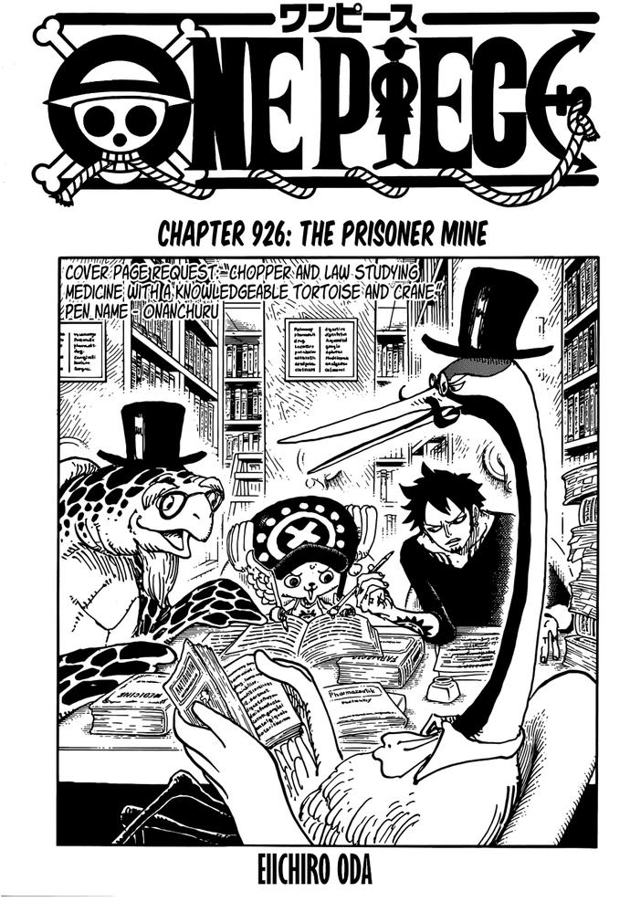 One Piece 926: Bóng ma bí ẩn xuất hiện - Dù ở trong tù nhưng Luffy và Kid vẫn sướng như tiên - Ảnh 1.