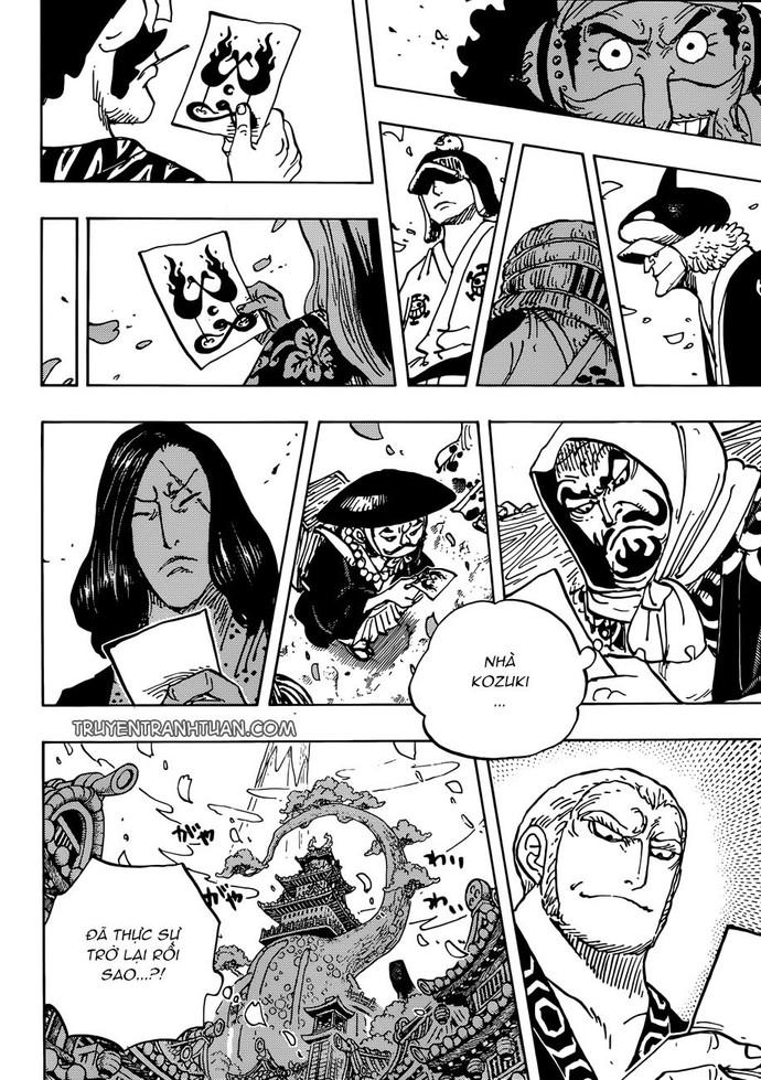 One Piece 926: Bóng ma bí ẩn xuất hiện - Dù ở trong tù nhưng Luffy và Kid vẫn sướng như tiên - Ảnh 3.