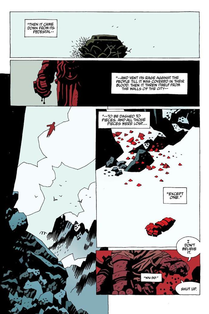 Truyền thuyết về The Right Hand of Doom, bảo vật quyền năng nhất vũ trụ của Hellboy - Ảnh 5.