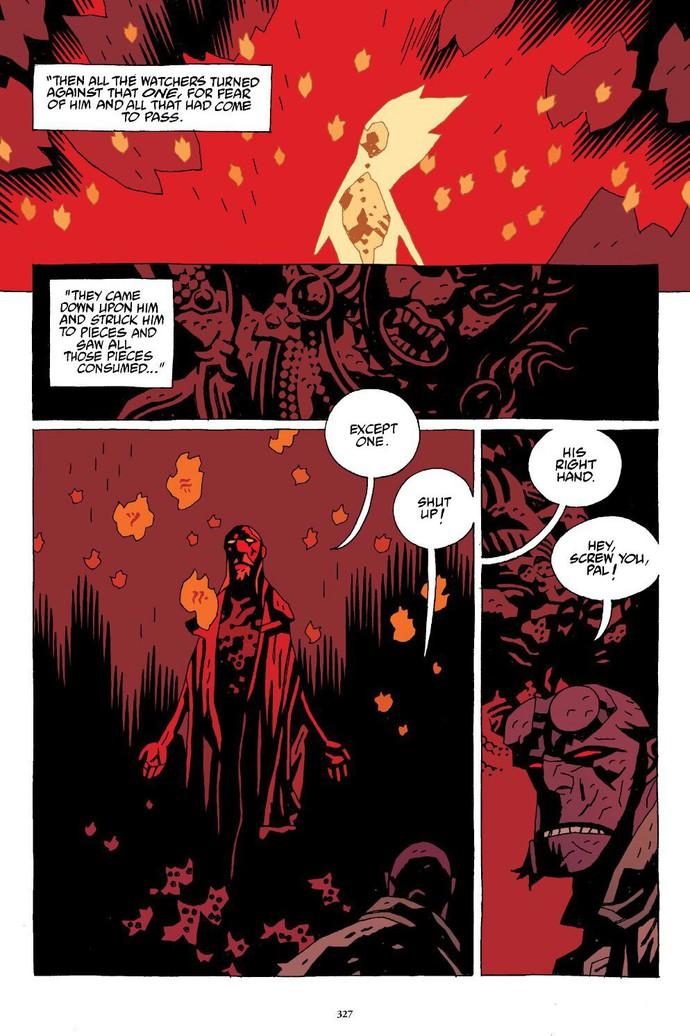 Truyền thuyết về The Right Hand of Doom, bảo vật quyền năng nhất vũ trụ của Hellboy - Ảnh 3.
