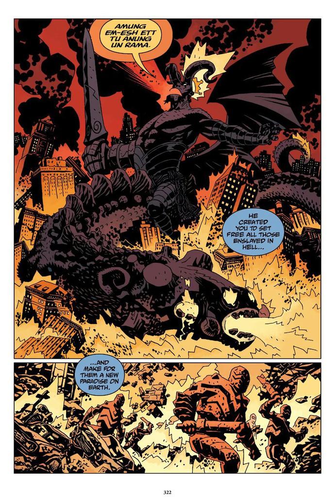 Truyền thuyết về The Right Hand of Doom, bảo vật quyền năng nhất vũ trụ của Hellboy - Ảnh 7.
