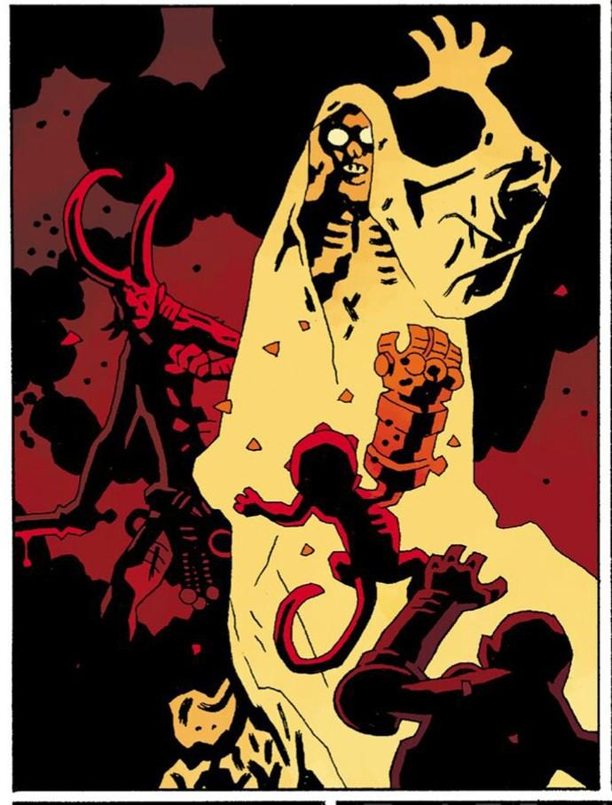 Truyền thuyết về The Right Hand of Doom, bảo vật quyền năng nhất vũ trụ của Hellboy - Ảnh 6.