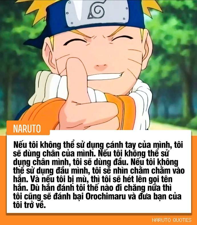 10 câu nói ý nghĩa của các nhân vật trong Naruto, câu thứ 3 sẽ là động lực giúp nhiều người phấn đấu - Ảnh 4.