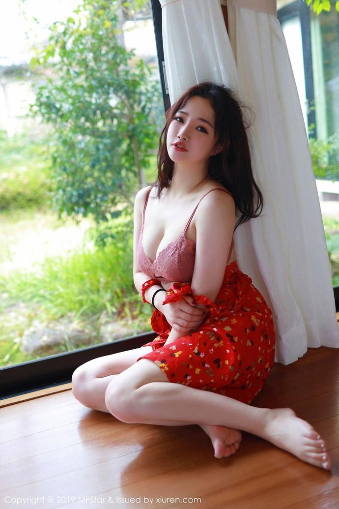 Đẹp phồn thực với vòng một gợi cảm của hot girl Xu Cake - Ảnh 4.