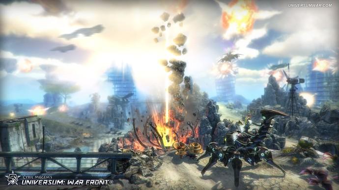 Universum: War Front - game online tuyệt đỉnh sắp xuất hiện