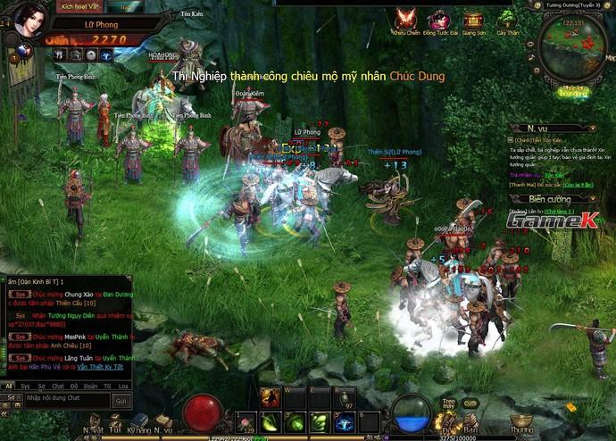 Rồng Tam Quốc: Game chỉ cần xem không cần chơi