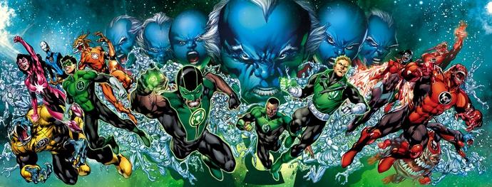 Diễn viên cơ bắp Dwayne Johnson sẽ đóng vai Green Lantern