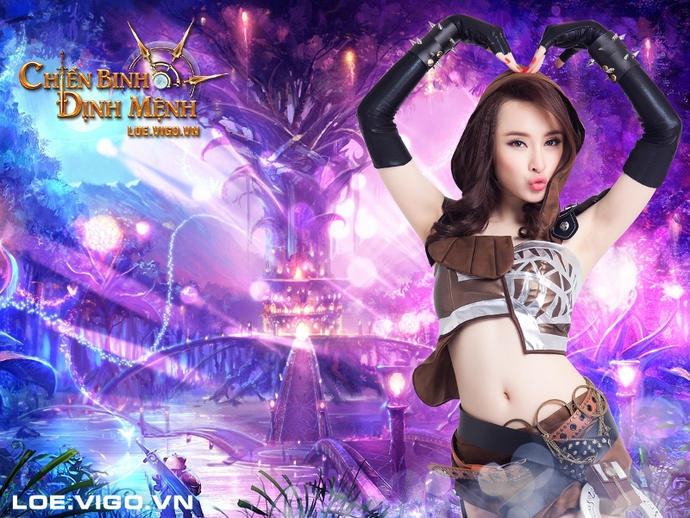 Angela Phương Trinh nóng bỏng với cosplay game 16+ Chiến Binh Định Mệnh
