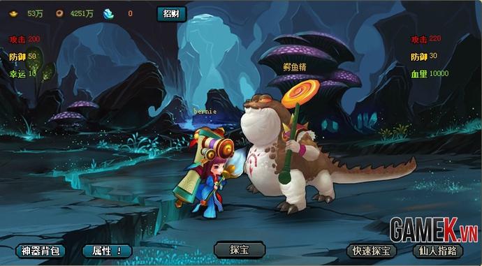 Webgame Q-style Sửu Nương Nương được mua về Việt Nam