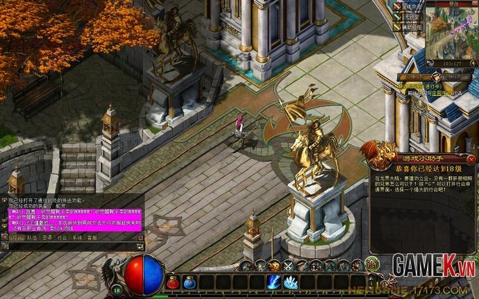 Long Giới Tranh Bá- Game 2D có bối cảnh Châu Âu
