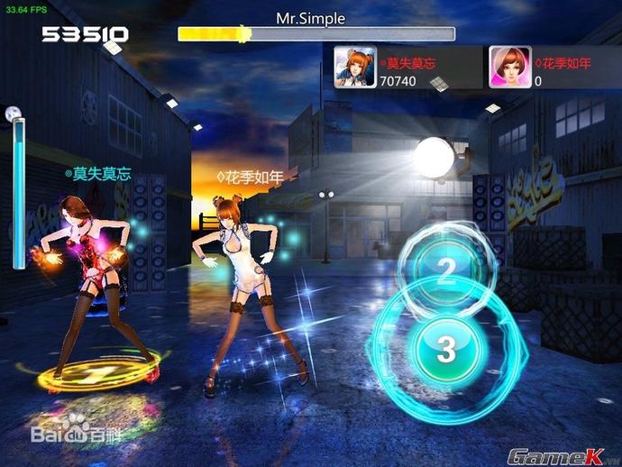 Game 3D vũ đạo Nhân Nhân Tú Vũ đã được mua về Việt Nam