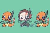 Nếu về chung 1 nhà, dàn nhân vật Kimetsu no Yaiba sẽ phù hợp với Pokemon nào?