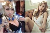 Chán làm ca sĩ thần tượng, hot girl chuyển qua cosplay LMHT, gây ấn tượng bởi đôi gò bồng đảo