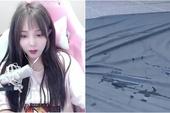 Tham gia thử thách mạo hiểm, nữ streamer xinh đẹp sợ hãi tới phát khóc, để lại vũng nước bí ẩn khiến cộng đồng mạng nghi vấn