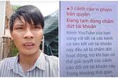 """Xong, Lộc Fuho chính thức sắp """"bay màu"""" Youtube triệu subs, đã """"nhận"""" đủ 3 gậy bản quyền"""