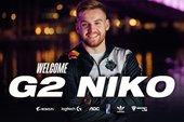 CS:GO - Bom tấn thị trường chuyển nhượng phát nổ: siêu sao NiKo chính thức đầu quân cho G2 Esports