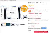 Xuất hiện shop đầu tiên tại Việt Nam đăng bán PS5, giá gần 30 triệu mà chỉ bảo hành đúng 1 tháng