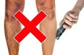 8 sự thật ai cũng tin nhưng hóa ra chỉ là nhầm lẫn: Lông chân càng cạo càng mọc lên nhanh?