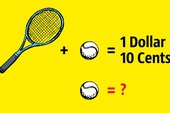 Câu đố đơn giản nhưng 99% mọi người trả lời sai: Quả bóng có giá bao nhiêu xu?