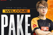 Team Flash thông báo chiêu mộ Pake, nhưng phản ứng của fan lại trái với mong đợi: