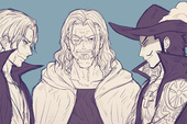 Giả thuyết One Piece gây sốc: Mihawk là con trai của Rayleigh nên mới quen biết và thân thiết với Shanks?
