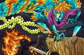 One Piece: Phượng Hoàng Marco một mình cân cả 2 tam tai mạnh nhất dưới trướng Tứ Hoàng Kaido
