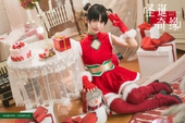 """Ngắm nàng kunoichi trong Naruto diện trang phục đỏ chót mừng năm mới mà thấy """"tết gần lắm rồi"""""""