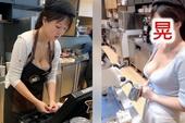 Xuất hiện clip cô nàng nhân viên gợi cảm, chỉ đứng pha sữa thôi cũng khiến cư dân mạng like share nhiệt tình