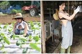 Chỉ ngồi trồng rau nuôi lợn qua ngày, cô gái bỗng chốc được dân mạng phong là hot girl, xôn xao tìm info