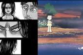 Bất ngờ, Doraemon và Attack on Titan có khái niệm