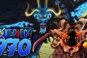 One Piece 970: Oden vung kiếm tha thu rồng Kaido khiến hắn đau đớn rơi xuống đất