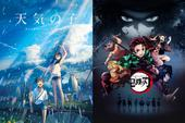 Kimetsu no Yaiba và Tenki no Ko vinh dự thắng giải Anime của năm tại Tokyo Anime Awards Festival 2020