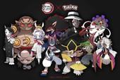 Loạt tranh vẽ Pokemon x Kimetsu no Yaiba cực ngầu được fan hâm mộ rần rần khen ngợi