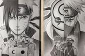 Loạt fan art Naruto toát lên vẻ ma mị đầy cuốn hút khiến người xem không thể rời mắt