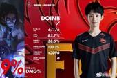 LMHT - Doinb ngỏ lời cảm ơn đồng đội: vì các bạn... chơi quá gà, em toàn phải gánh nên đành nhận MVP thôi