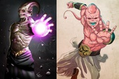 Dragon Ball: Kinh hãi khi thấy ác nhân Majin Buu được vẽ theo phong cách kinh dị