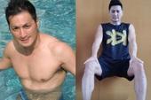 """Ở tuổi 61, """"Triển Chiêu"""" Hà Gia Kính gây bất ngờ với thân hình vạm vỡ, cơ bắp cuồn cuộn"""